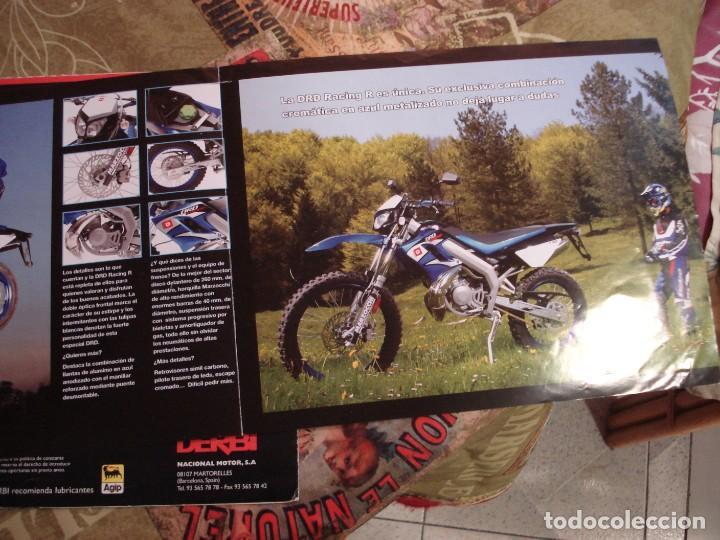 Coches y Motocicletas: DOS FOLLETOS DE PROPAGANDA DERBI - Foto 6 - 195042512