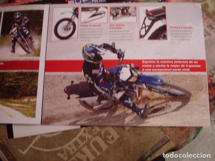 Coches y Motocicletas: DOS FOLLETOS DE PROPAGANDA DERBI - Foto 7 - 195042512