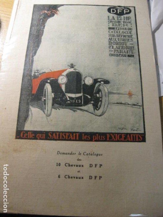 ANTIGUO PEQUEÑO CARTEL AUTOMOVIL DFP DORIOT FLANDRIT PARANT , EN CARTON 25 / 16 CM (Coches y Motocicletas Antiguas y Clásicas - Catálogos, Publicidad y Libros de mecánica)