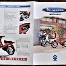 Coches y Motocicletas: FOLLETO CATALOGO PUBLICIDAD ORIGINAL VESPINO VELOFAX. Lote 195189371