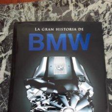 Coches y Motocicletas: LA GRAN HISTORIA DE BMW. EXCELENTE ESTADO. GRAN FORMATO, MUY ILUSTRADO.. Lote 195191633