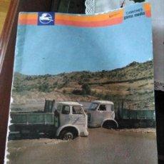 Coches y Motocicletas: CATALOGO PUBLICIDAD PEGASO CAMIONES GAMA MEDIA 1101. Lote 195198517