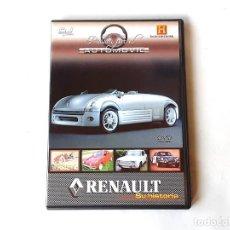 Coches y Motocicletas: RENAULT SU HISTORIA PASION POR EL AUTOMOVIL HISTORIA DE LAS GRANDES MARCAS DVD. Lote 195206847