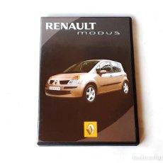 Coches y Motocicletas: RENAULT MODUS DVD OFICIAL PROMOCIONAL AÑO 2004. Lote 195207535