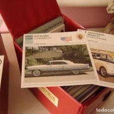 Coches y Motocicletas: 980 FICHAS AUTOS DE COLECCION AGOSTINI. Lote 195237336