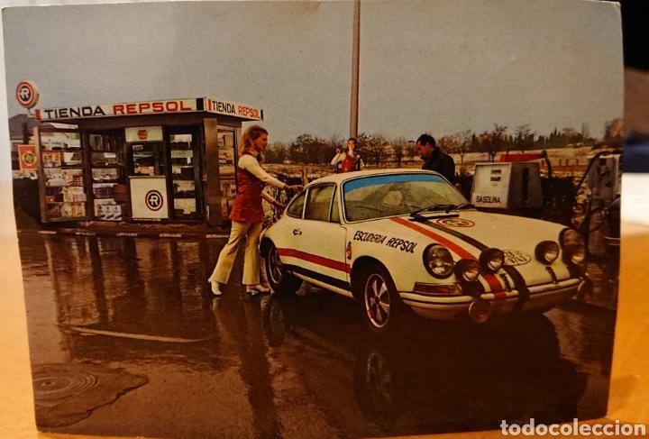 POSTAL PORSCHE 911, AÑOS 70, SIN CIRCULAR. (Coches y Motocicletas Antiguas y Clásicas - Catálogos, Publicidad y Libros de mecánica)