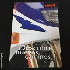 Coches y Motocicletas: FOLLETO CATALOGO PUBLICIDAD ORIGINAL DERBI SENDAL-L 1997. Lote 195260701