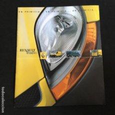 Coches y Motocicletas: FOLLETO CATALOGO PUBLICIDAD ORIGINAL RENAULT TRAFIC DE 2001. Lote 195261445