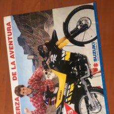 Coches y Motocicletas: FOLLETO PUBLICITARIO SUZUKI DR. Lote 195279918