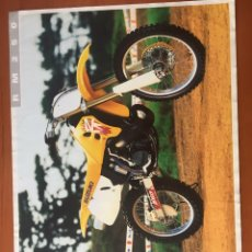 Coches y Motocicletas: FOLLETO PUBLICITARIO SUZUKI RM250. Lote 195280066