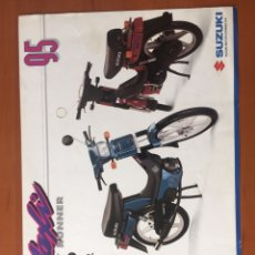 Coches y Motocicletas: FOLLETO PUBLICITARIO SUZUKI MAXI. Lote 195280167