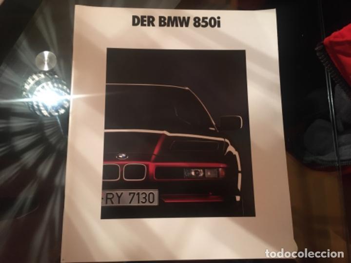 CATALOGO BMW 850I (Coches y Motocicletas Antiguas y Clásicas - Catálogos, Publicidad y Libros de mecánica)