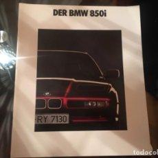 Coches y Motocicletas: CATALOGO BMW 850I. Lote 195337732