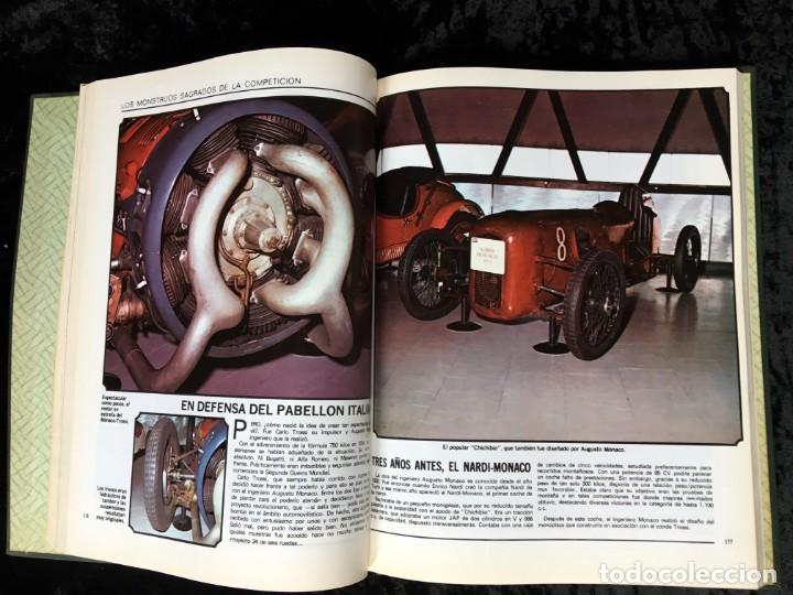 Coches y Motocicletas: LOS MONSTRUOS SAGRADOS DE LA COMPETICIÓN - ALBERTO MALLO - 1960 - FOTOGRAFÍAS - Foto 6 - 195355087