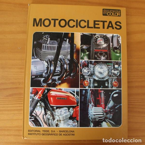 Coches y Motocicletas: DOCUMENTAL EN COLOR 7 MOTOCICLETAS. EDITORIAL TEIDE 1972 TAPA DURA MONTESA DUCATI BULTACO... - Foto 1 - 195358382