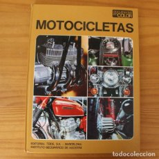 Coches y Motocicletas: DOCUMENTAL EN COLOR 7 MOTOCICLETAS. EDITORIAL TEIDE 1972 TAPA DURA MONTESA DUCATI BULTACO.... Lote 195358382