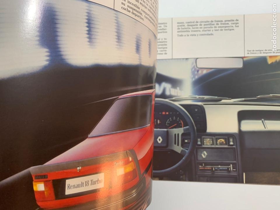 Coches y Motocicletas: Catálogo folleto publicidad original Renault 18 de 1982 - Foto 2 - 195386431