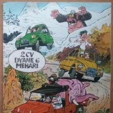 Coches y Motocicletas: CITRÖEN 2CV DYANE 6 MEHARI TEBEO CÓMIC ILUSTRADO POR JEAN-CLAUDE FOURNIER 1978. Lote 195475531