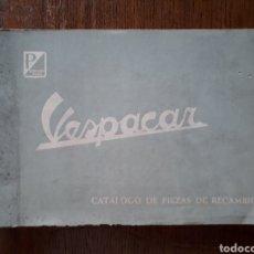 Coches y Motocicletas: VESPACAR , CATÁLOGO ORIGINAL.. Lote 195514063