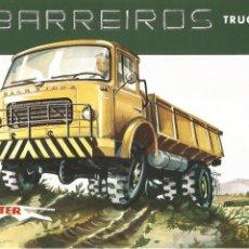 Coches y Motocicletas: BARREIROS TRUCK PANTER TB241 1961 CATÁLOGO 4+2 PÁGINAS EN INGLÉS. Lote 195542632