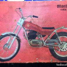 Coches y Motocicletas: MONTESA COTA 74. MANUAL DE INSTRUCCIONES. Lote 195671081