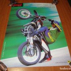 Coches y Motocicletas: CARTEL POSTER ORIGINAL DERBI. Lote 244632470