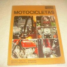 Coches y Motocicletas: MOTOCICLETAS , DOCUMENTAL EN COLOR. 1972. TAPA DURA , 64 PAGS.. Lote 196389266