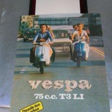 Coches y Motocicletas: MOTO VESPA 75 CATÁLOGO. Lote 196202752
