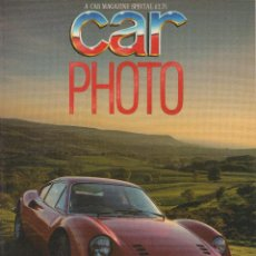 Coches y Motocicletas: CAR MAGAZINE SPECIAL CAR PHOTO 1985. Lote 197329496