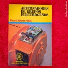 Automobili e Motociclette: ALTERNADORES DE GRUPOS ELECTRÓGENOS MANUEL ALVAREZ PULIDO. Lote 197647227