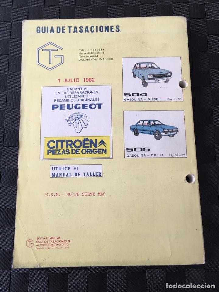 Manual De Taller Guia Tasaciones Citroen Y Peug
