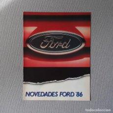 Coches y Motocicletas: NOVEDADES FORD 86. Lote 197774503