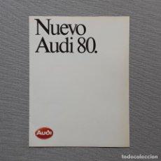 Coches y Motocicletas: NUEVO AUDI 80. CUADRÍPTICO.. Lote 197775146