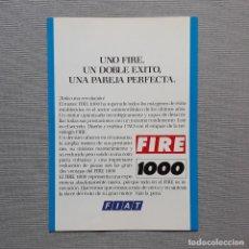 Coches y Motocicletas: FIAT UNO FIRE CUADRÍPTICO. Lote 197775503