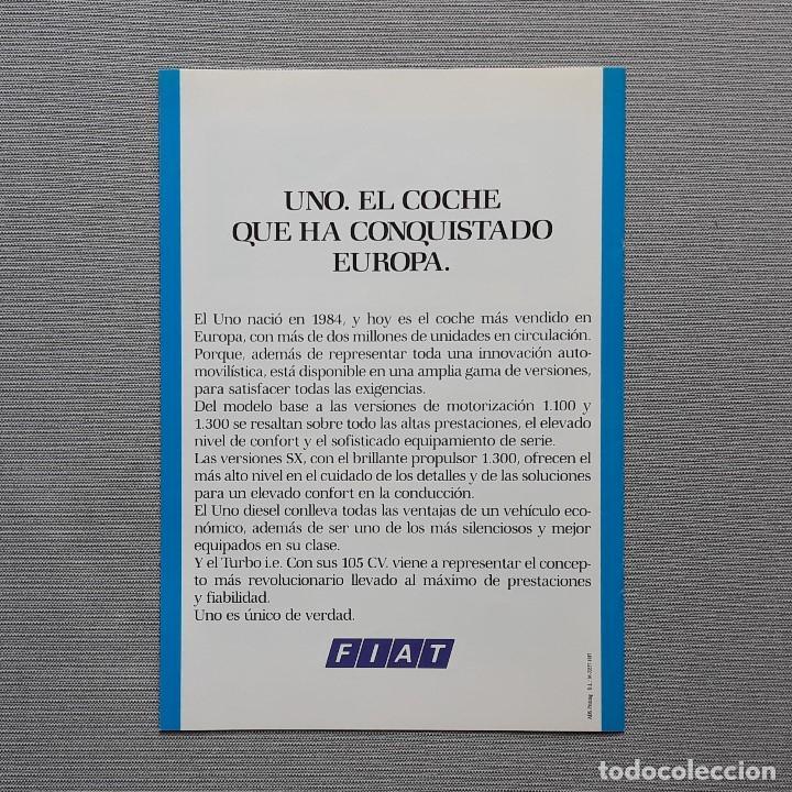 Coches y Motocicletas: FIAT UNO FIRE CUADRÍPTICO - Foto 2 - 197775503