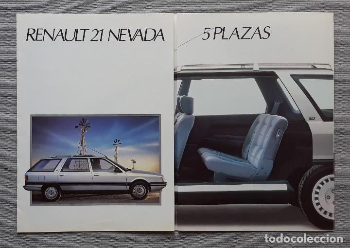 Coches y Motocicletas: RENAULT 21 NEVADA CUADRÍPTICO - Foto 4 - 197775782