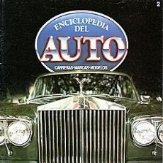 Coches y Motocicletas: ENCICLOPEDIA DEL AUTO Nº 2 LOTUS 78/79 MERCEDES 300 SL. Lote 197920662