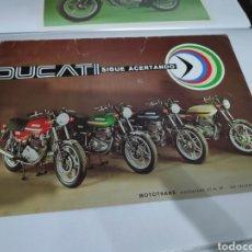 Coches y Motocicletas: CATALOGO ORIGINAL MOTOS DUCATI. Lote 198281267