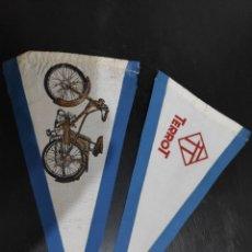 Coches y Motocicletas: BANDERINES MOTO TERROT. Lote 198281896