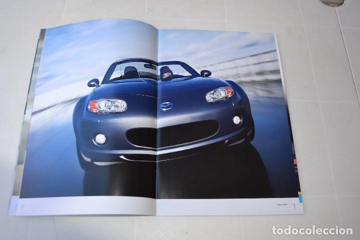 2005 CATÁLOGO MAZDA MX5 (Coches y Motocicletas Antiguas y Clásicas - Catálogos, Publicidad y Libros de mecánica)