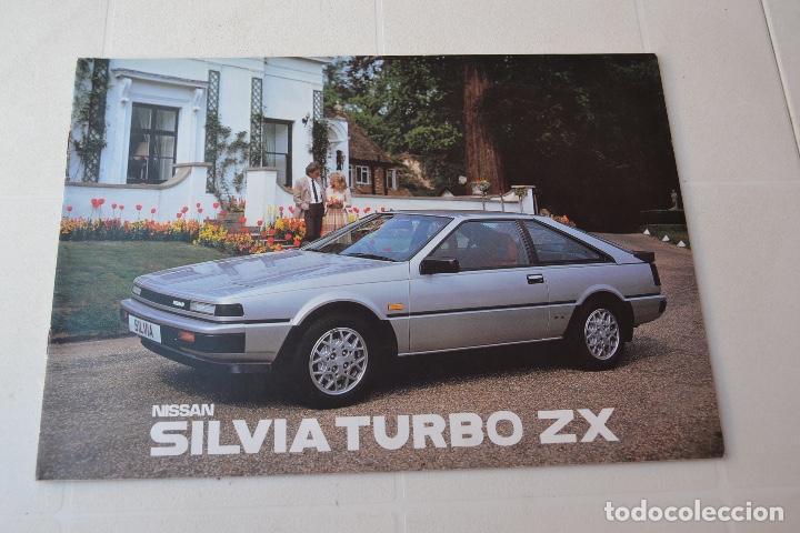 1986 NISSAN SILVIA TURBO ZX RARO (Coches y Motocicletas Antiguas y Clásicas - Catálogos, Publicidad y Libros de mecánica)