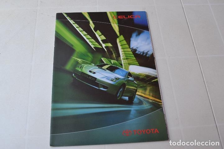 1990`S CATÁLOGO TOYOTA CELICA (Coches y Motocicletas Antiguas y Clásicas - Catálogos, Publicidad y Libros de mecánica)