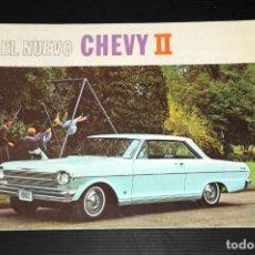 Coches y Motocicletas: CATALOGO COCHE CHEVROLET ( EL NUEVO CHEVY II). Lote 199854616