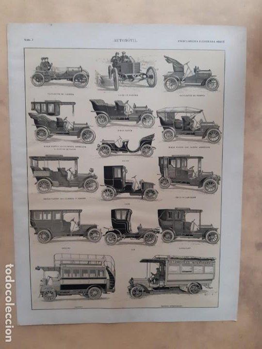 COCHES-AUTOMÓVILES ANTIGUOS/HISTORIA DEL AUTOMÓVIL (Coches y Motocicletas Antiguas y Clásicas - Catálogos, Publicidad y Libros de mecánica)