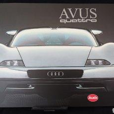 Coches y Motocicletas: CATÁLOGO AUDI AVUS QUATTRO W12 EN HOLANDÉS.. Lote 200546917