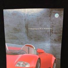 Coches y Motocicletas: CATÁLOGO VOLKSWAGEN W12 ROADSTER NARDO DE 1998 EN ITALIANO VW. Lote 200554340