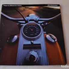 Coches y Motocicletas: 1991 CATÁLOGO HARLEY DAVIDSON TODOS LOS MODELOS RARO. Lote 287947288