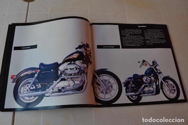 Coches y Motocicletas: 1991 CATÁLOGO HARLEY DAVIDSON TODOS LOS MODELOS RARO - Foto 3 - 287947288