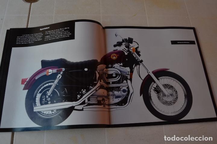 Coches y Motocicletas: 1991 CATÁLOGO HARLEY DAVIDSON TODOS LOS MODELOS RARO - Foto 4 - 287947288