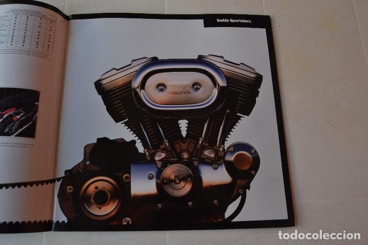 Coches y Motocicletas: 1991 CATÁLOGO HARLEY DAVIDSON TODOS LOS MODELOS RARO - Foto 5 - 287947288